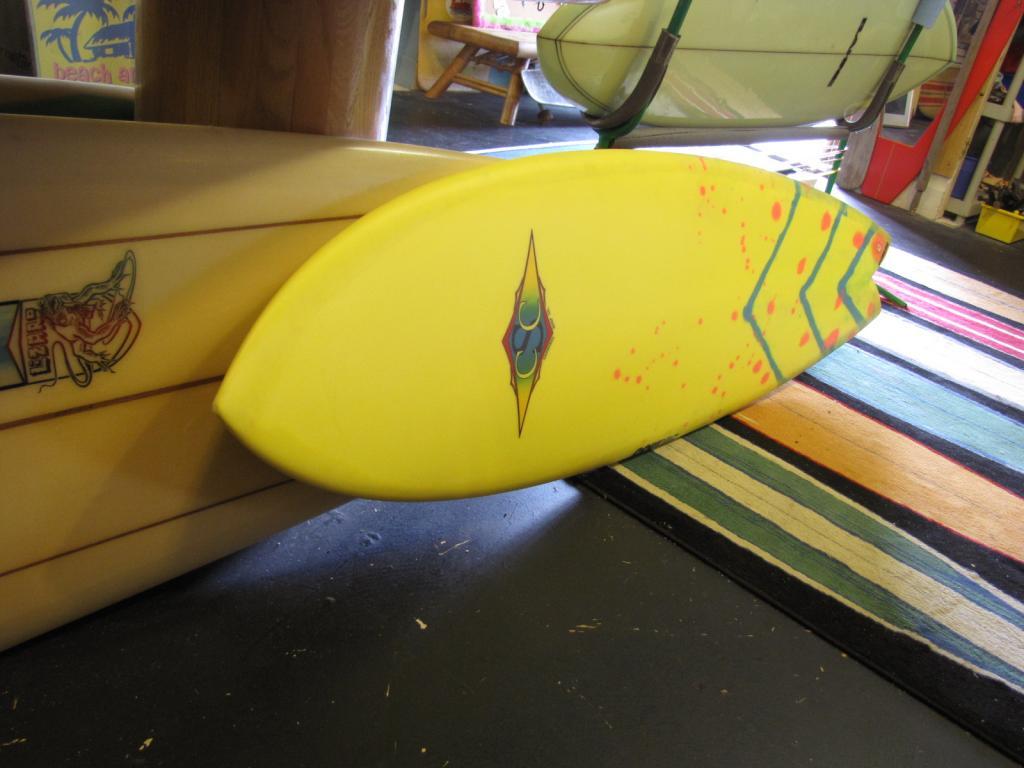 "5'-8"" Cannibal CoreVac Retro Fish Surfboard"