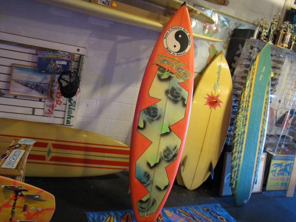 T&C Town and Country Surfboard 1980's