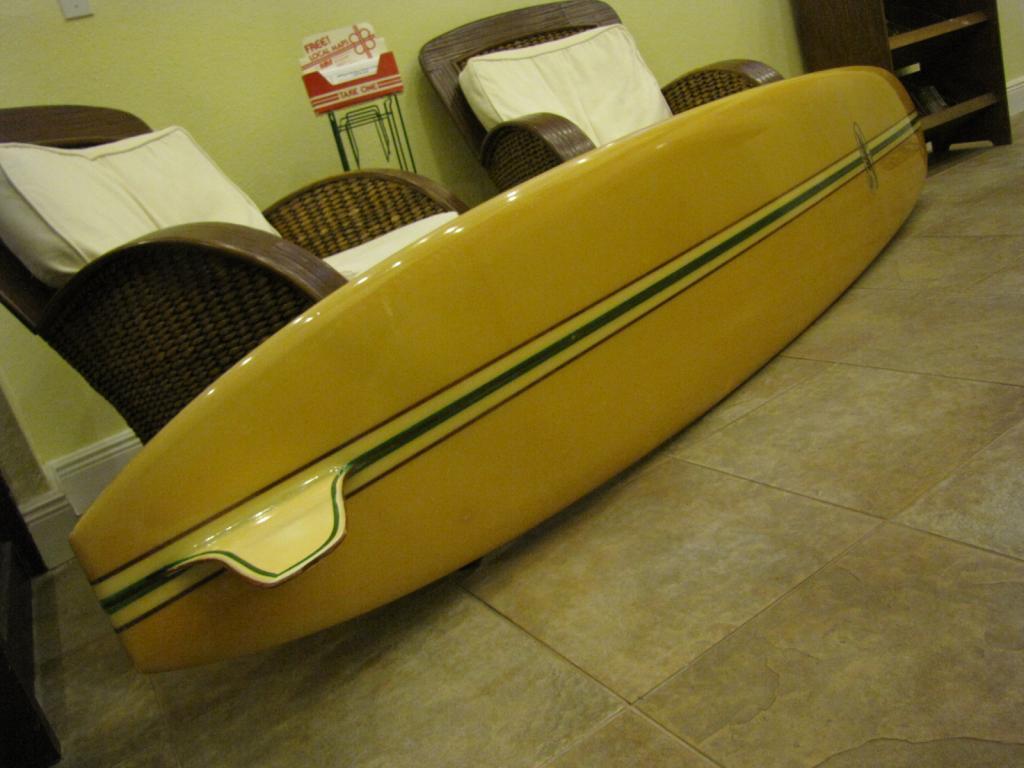 1964 Hansen Mike Doyle Vintage Longboard Surfboard