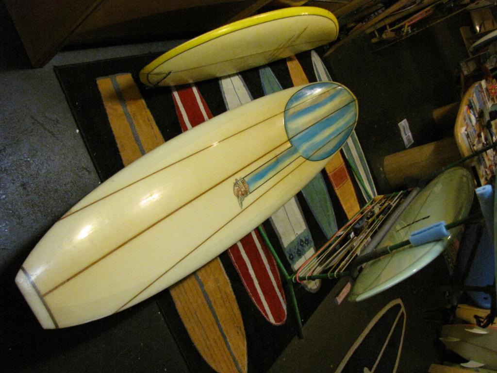 1966 Gordie Lizard Vintage longboard surfboard