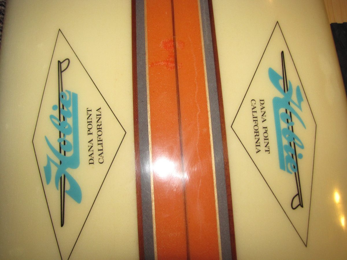 Hobie antique vintage longboard surfboard surfing museum surfshop stuart jensen beach fl