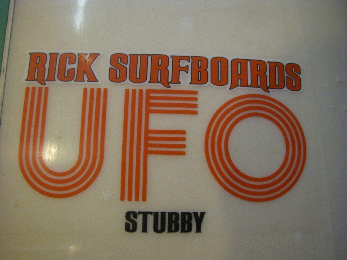 Rick UFO Vintage surfboard surfing museum surfshop stuart jensen beach florida