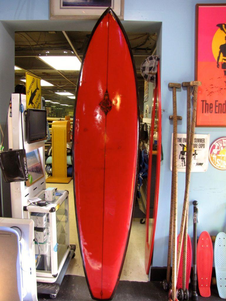 hobie mickey munoz positive force vintage surfboard surfing museum surfshop stuart jensen beach fl