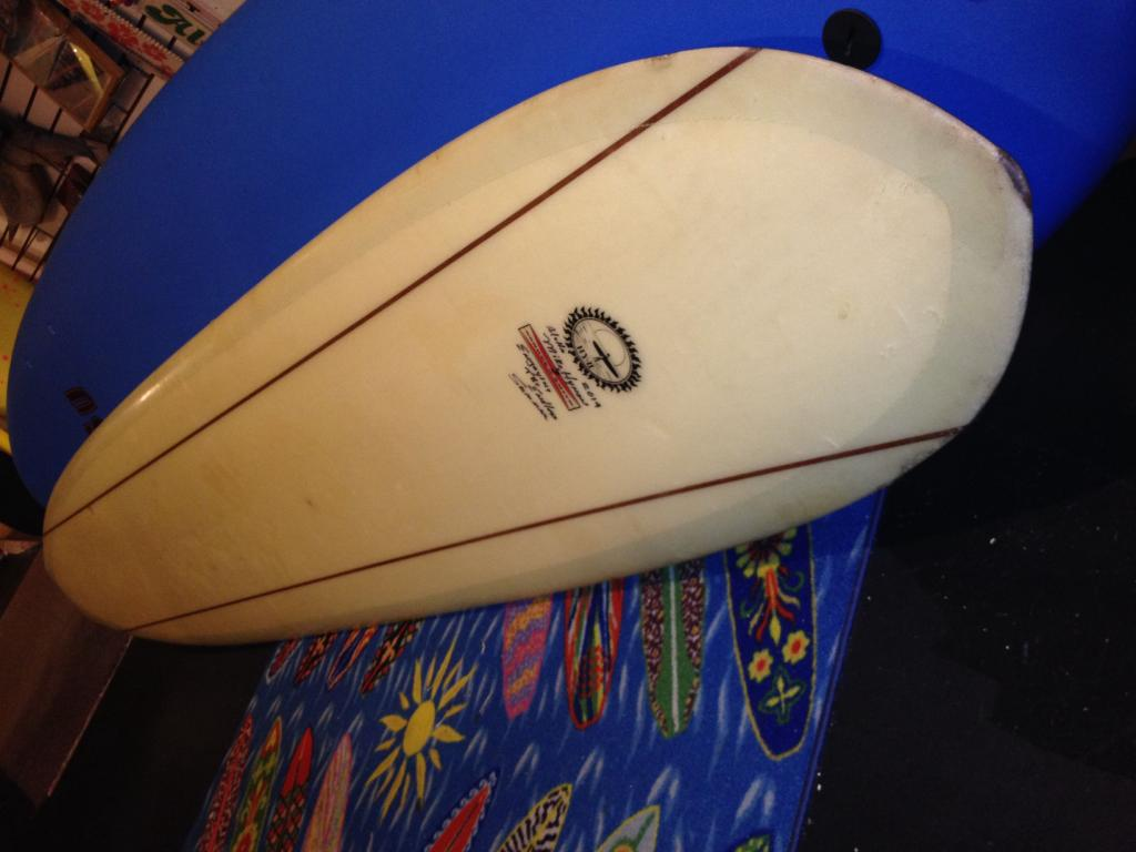 G&S Gordon & Smith Mike Hynson HY2 Endless Summer red fin vintage longboard surfboard