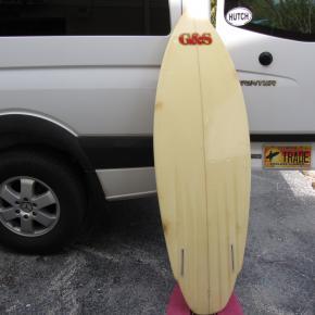 G&S Gordon and smith vintage twin fin surfboard museum hank warner shaper surfshop stuart fl florida