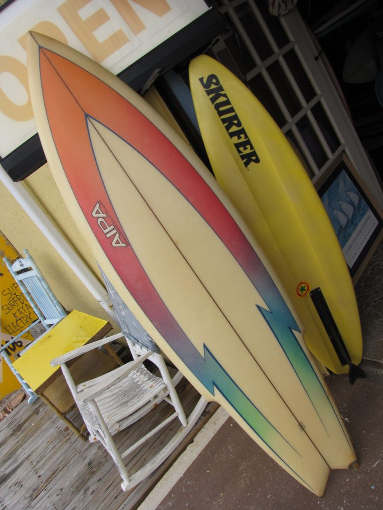 Ben Aipa Stinger Vintage Surfboard museum surfshop stuart jensen beach fl florida