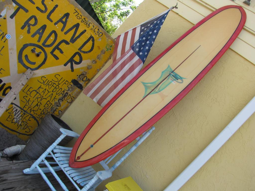 Vintage Hansen superlight surfboards 1968 collectable surfboard