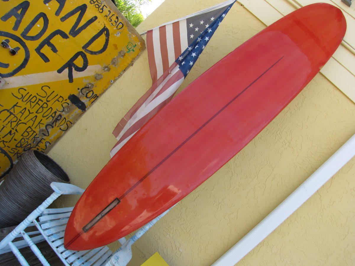 Vintage Hansen surfboard museum surfshop stuart fl florida 34996