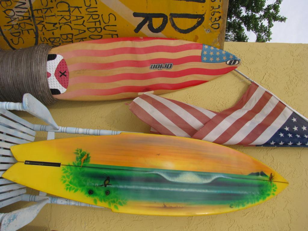 1970's dick catri vintage surfboard 1975 surf board surfing island trader surf shop stuart fl