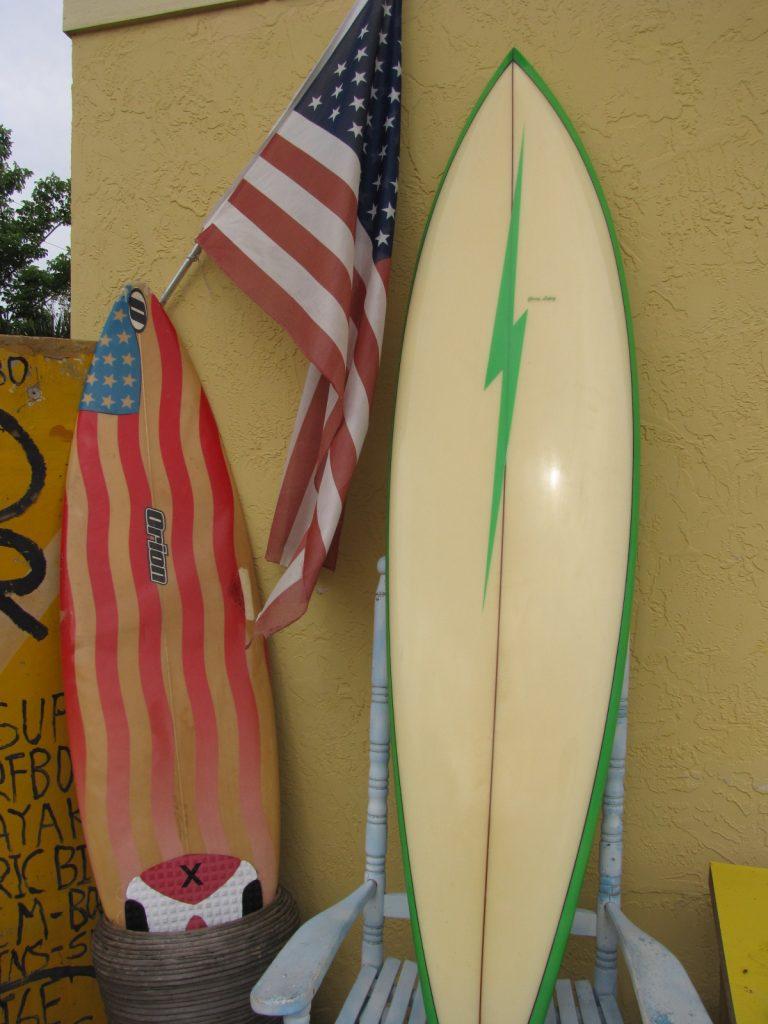 1976 Lightning Bolt Vintage Surfboard Island Trader Surf Shop