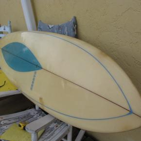 Vintage antique hansen surfboards surfboard museum singlefin surf board surfshop jensen beach fl florida
