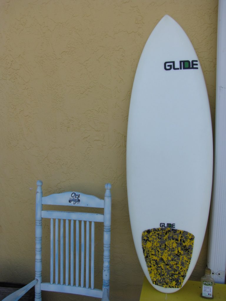 "Glide 5'-6"" Egg UFO surfboard shortboard tri fin surfboards surf board epoxy surf boards made in usa tri fin"