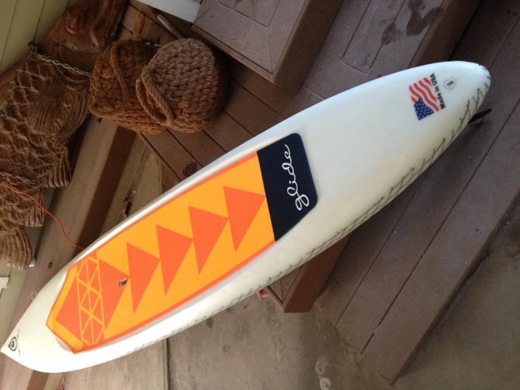 14' Glide race racing stand up paddleboard downwind sup down wind paddle board
