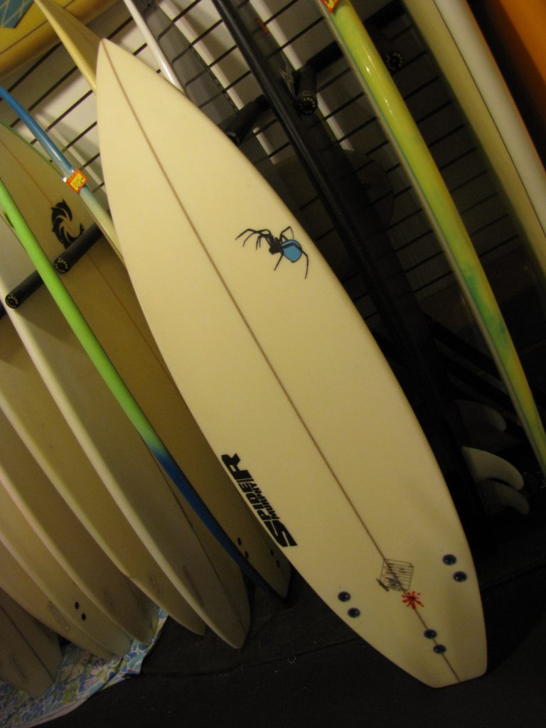 "5'-11"" Spider murphy used surfboard surf boards surfboards stuart jensen beach fl florida 34996"