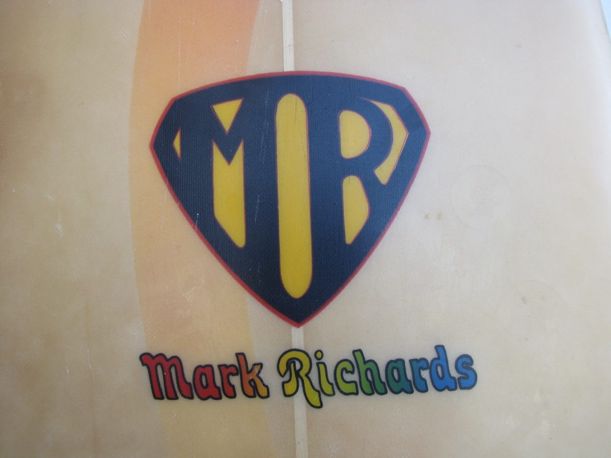 Mark Richards vintage surfboard museum star fin system surfboards surfshop stuart fl 34996