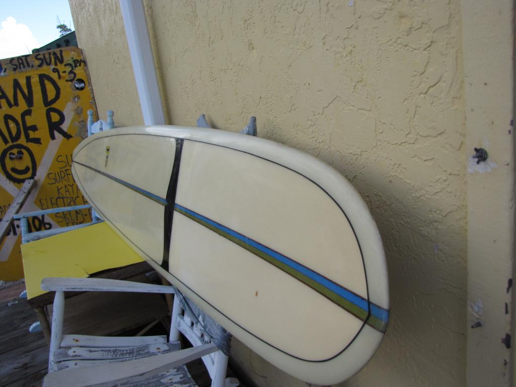 Stewart Silencer Vintage 1968 longboard surfboard noserider stepdeck surfboard  surfing long island ny