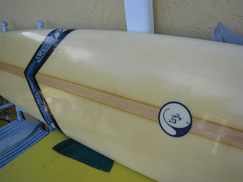 1964 Lari Jai north hollywood CA vintage surfboard longboard used surfboards
