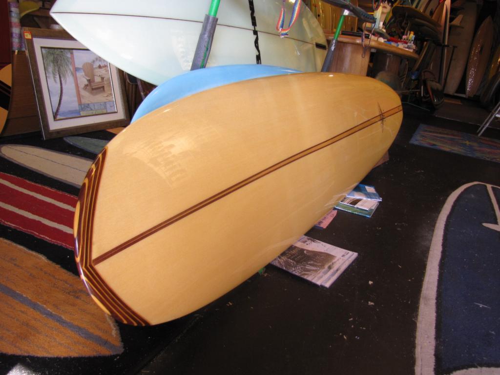 Yeynolds Yater spoon longboard surfboard noserider used surfboards surfing long board