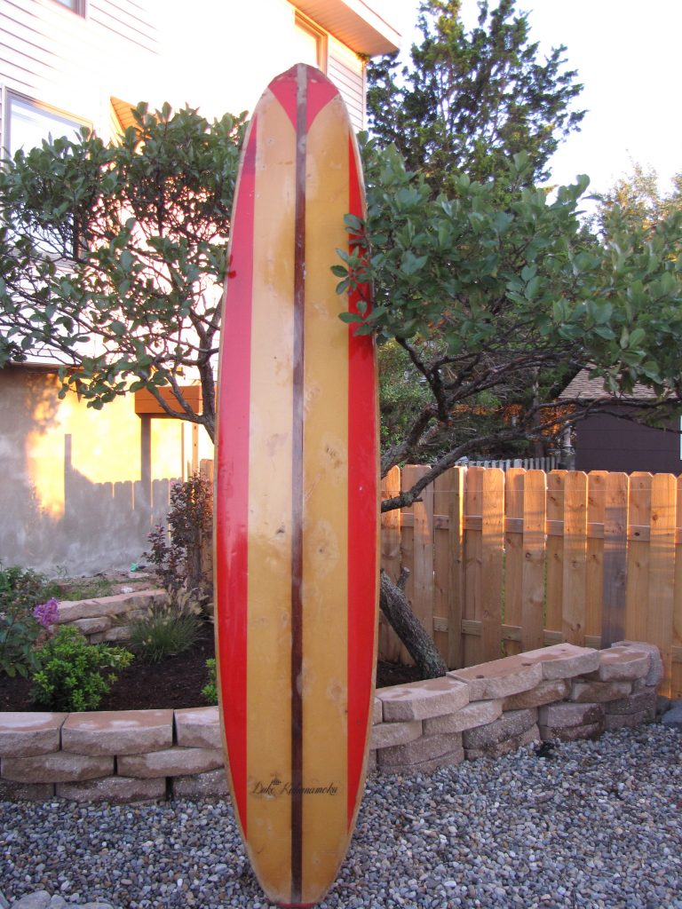 duke kahanamoku vintage popout the maui pop out surfboard surf board longboard long board 1960's surfshop stuart fl 34996