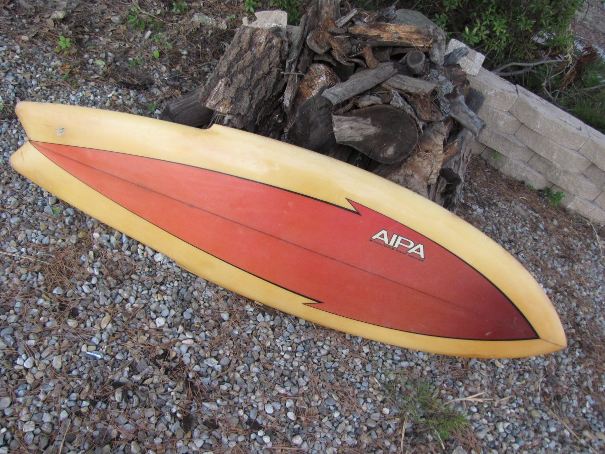 Antique Ben aipa stinger vintage surfboard surf board surfings new image 1970's surfshop surf shop stuart fl 34996