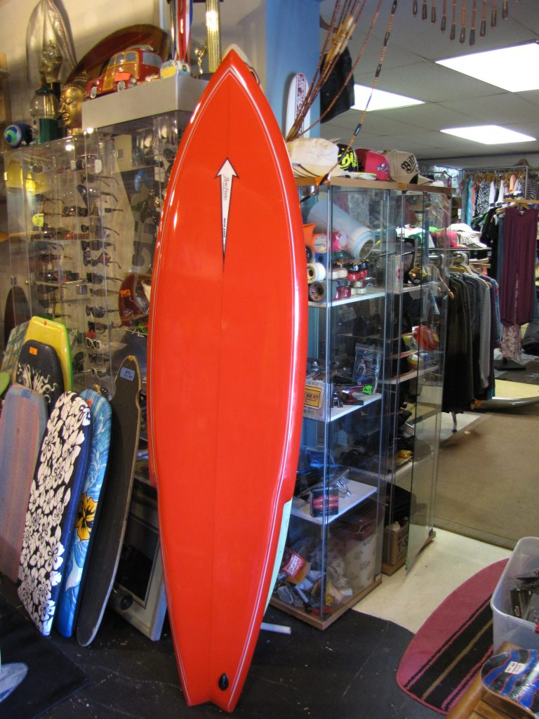 herbie fletcher antique old vintage surfboard dana point california 1970's classic single fin surfshop stuart fl 34996