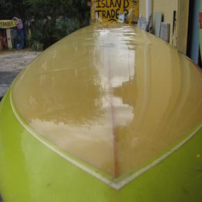 rick vintage 1970's single fin surfboard phil becker surfboards surfshop stuart fl 34996