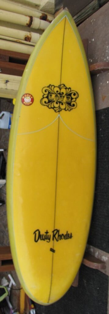 vintage dusty rhodes surfboards love model joe simo tideline design surfshop surf stuart jensen beach fl 34996