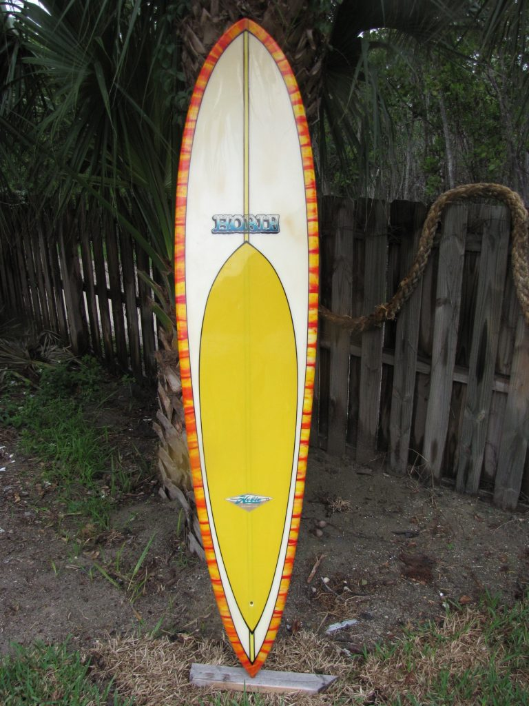 Hobie vintage 1960's 1970's transitional surfboard randy rarick surfshop surfboards stuart fl 34996