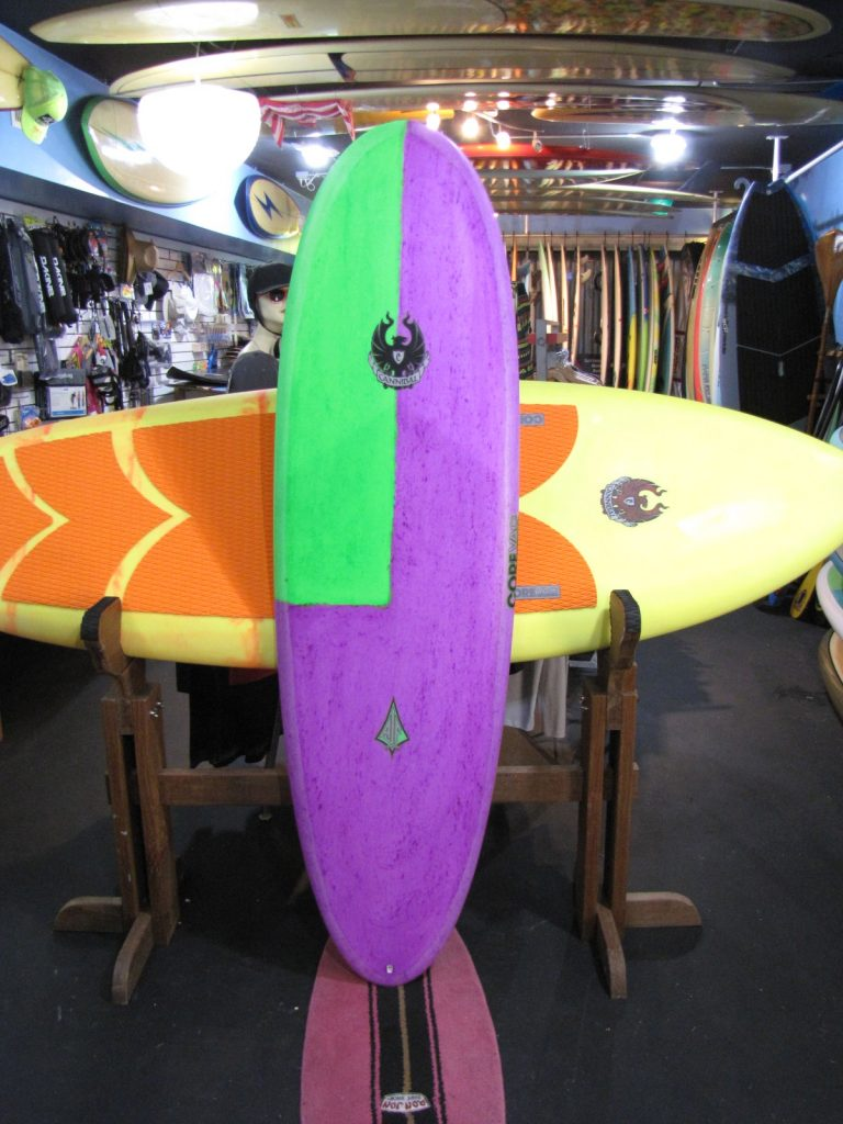 Corevac composites usa cannibal used surfboards mini bonzer campbell brothers surfboard surfshop surf shop stuart fl 34996