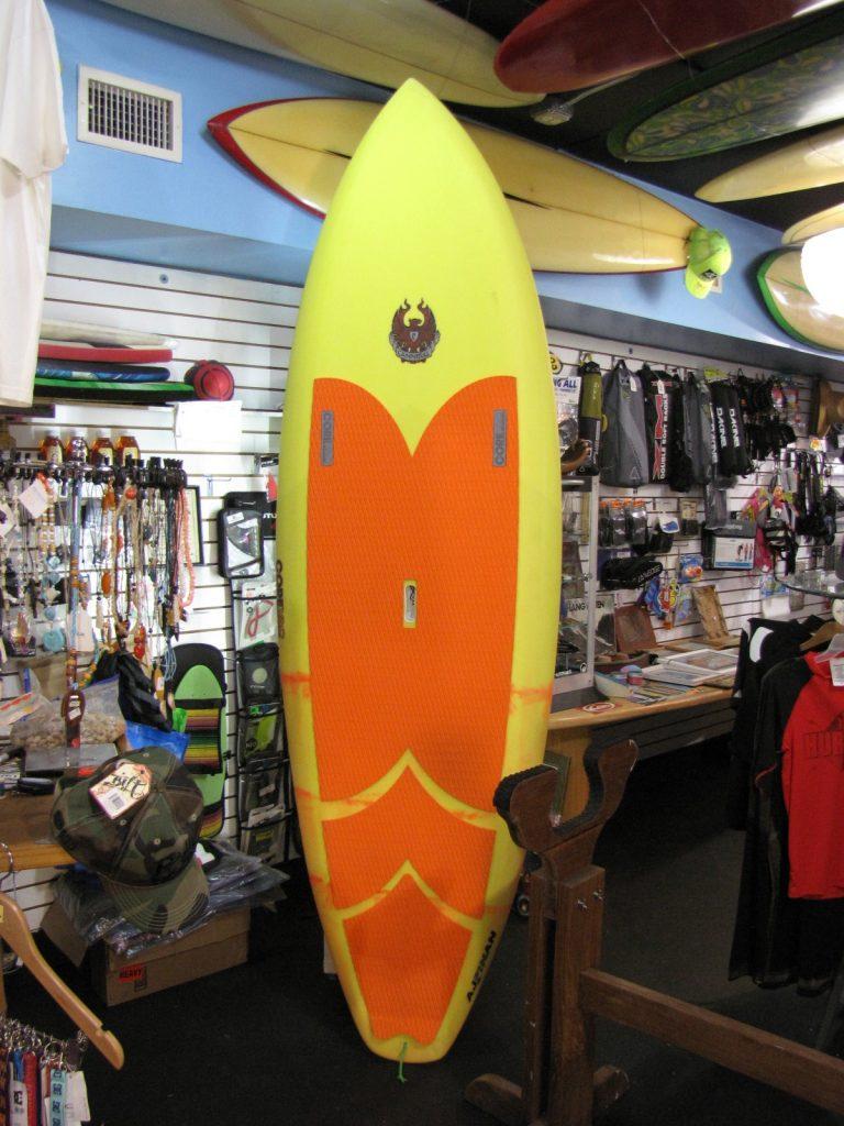 Corevac Cannibal sup stand up paddleboard a j finnan vaccum  bag surfshop paddleboard shop stuart fl 34996