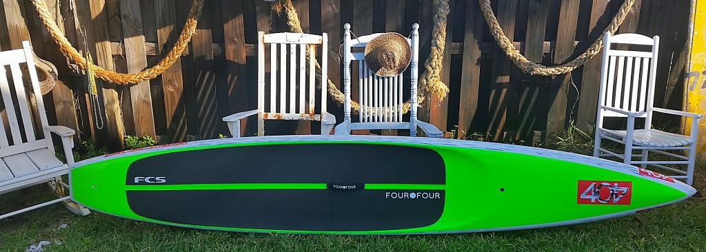 danny ching 404 carbon v3 race  sup displacement  hull stand up paddleboard  shop used paddleboards surfshop stuart fl 34996