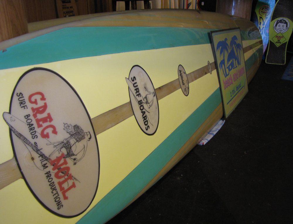 1963-65 Vintage Greg Noll Surfboard Longboard