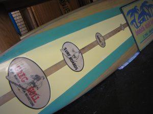 vintage greg noll surfboard for sale film production chop stick chopstick d fin used surfboards surfshop stuart jensen beach fl 34996