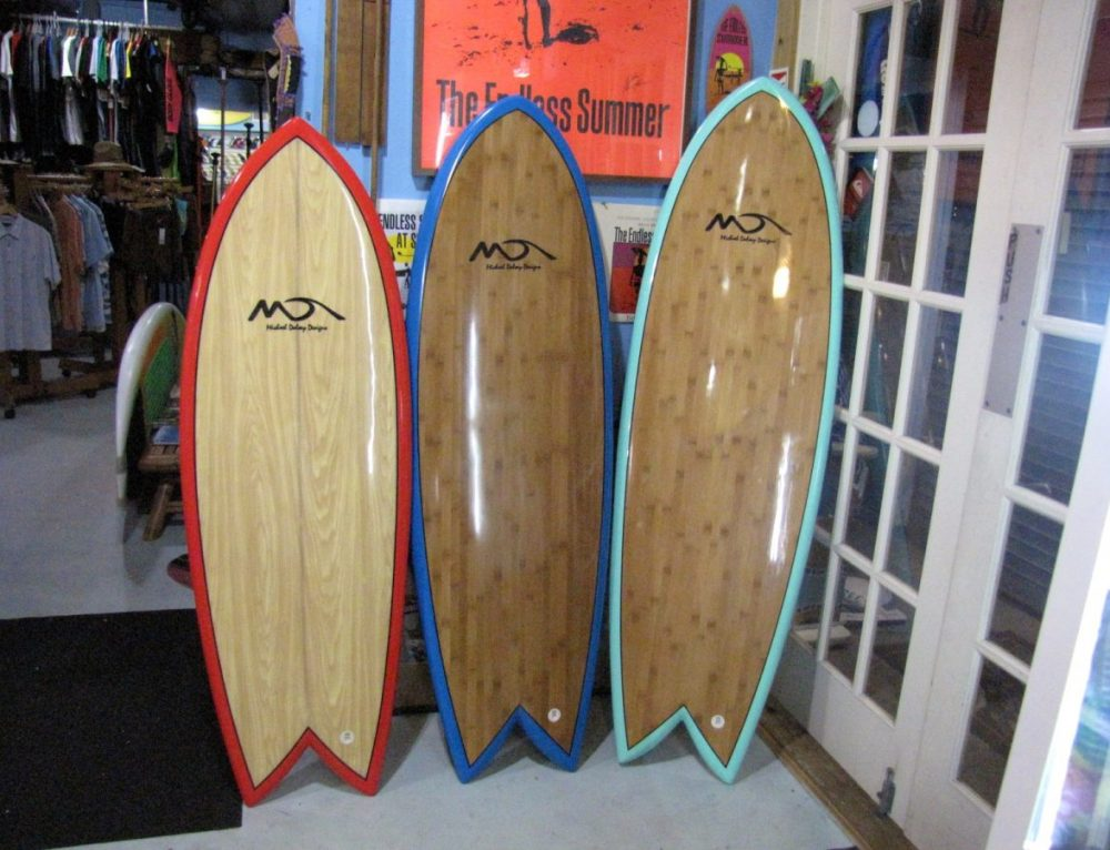 5'4″-6′-8″ Dolsey Summer Fish Surfboard