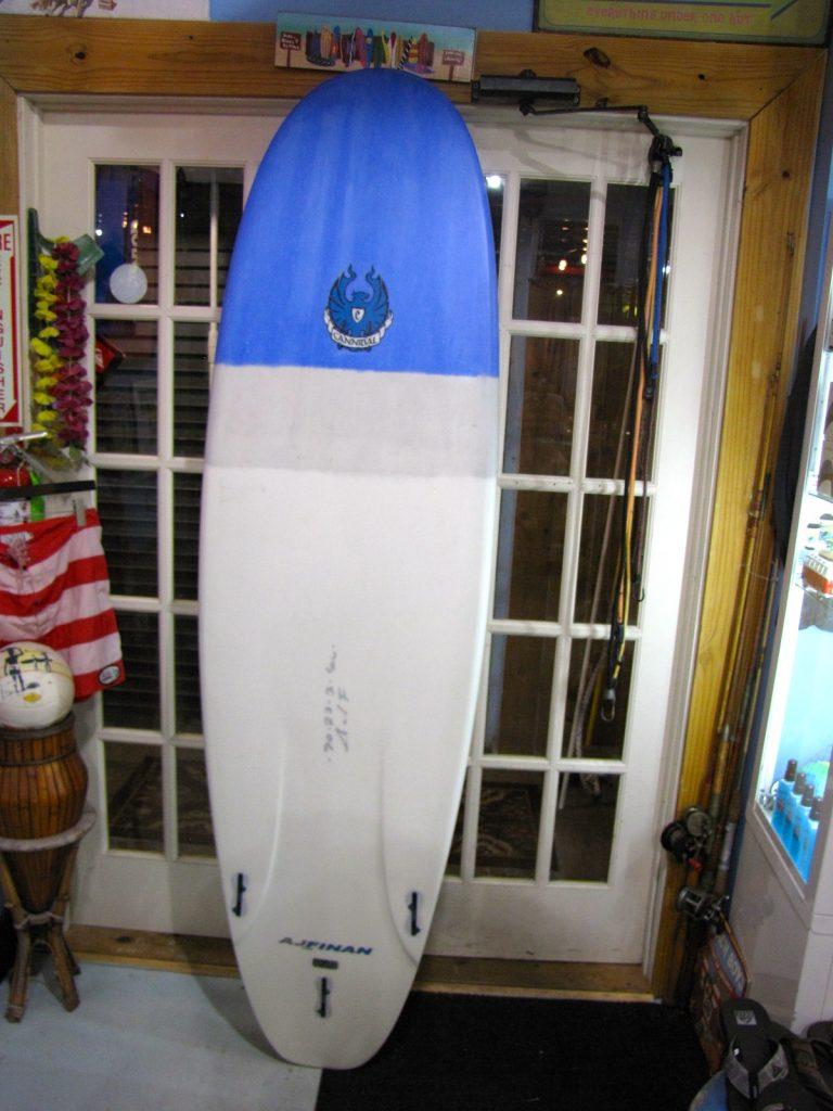 COREVAC  CANNIBAL A.J. FINNAN  SURF board USED new SURFBOARD SURFSHOP surfing STUART jensen beach treasure coast FL 34996