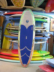 COREVAC CANNIBAL A.J. FINNAN SURFSUP SURF SUP STAND UP PADDLEBOARD USED S.U.P. SURFBOARD noserider SURFSHOP CARBONFIBER PADDLE STUART jensen beach treasure coast FL florida 34996