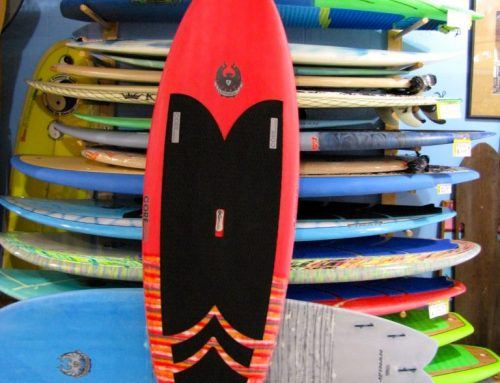 "7'10"" CoreVac Cannibal Retro SUP"