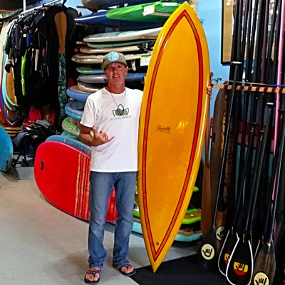 David Elias, owner of Island Trader Surf Shop