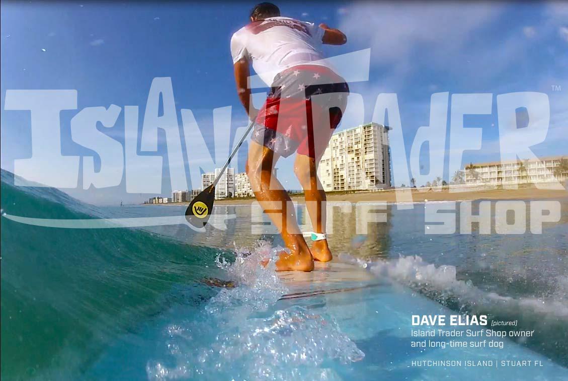 Dave Elias owner of Island Trader Surf Shop