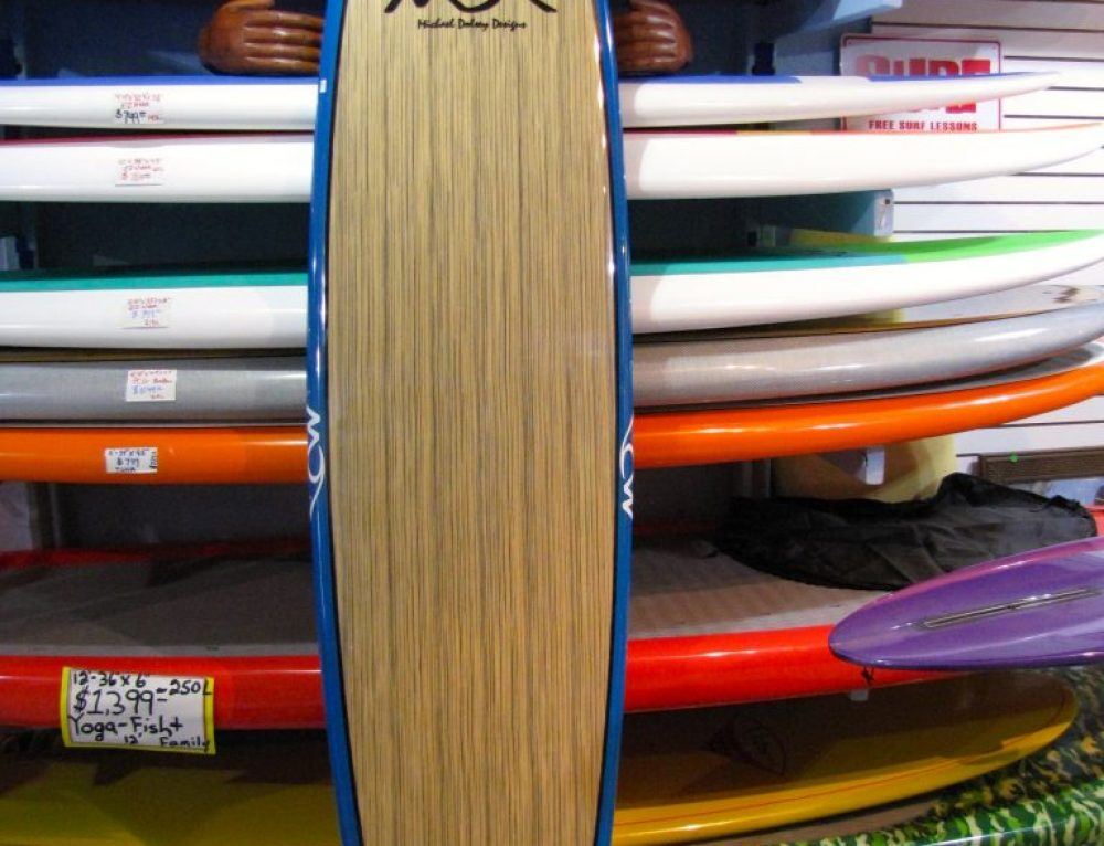 8′ Dolsey PC Woody Surfboard