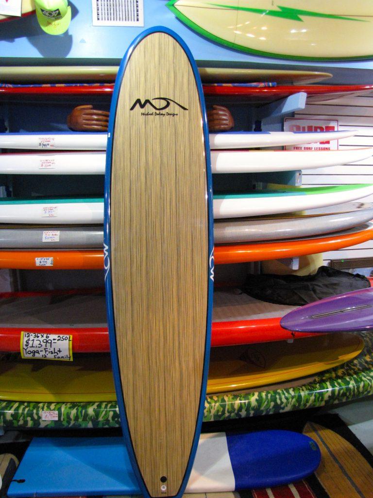 dolsey pc woody 8' foot surfboard longboard surfshop surfboard surfboards stuart jensen beach fl 34996
