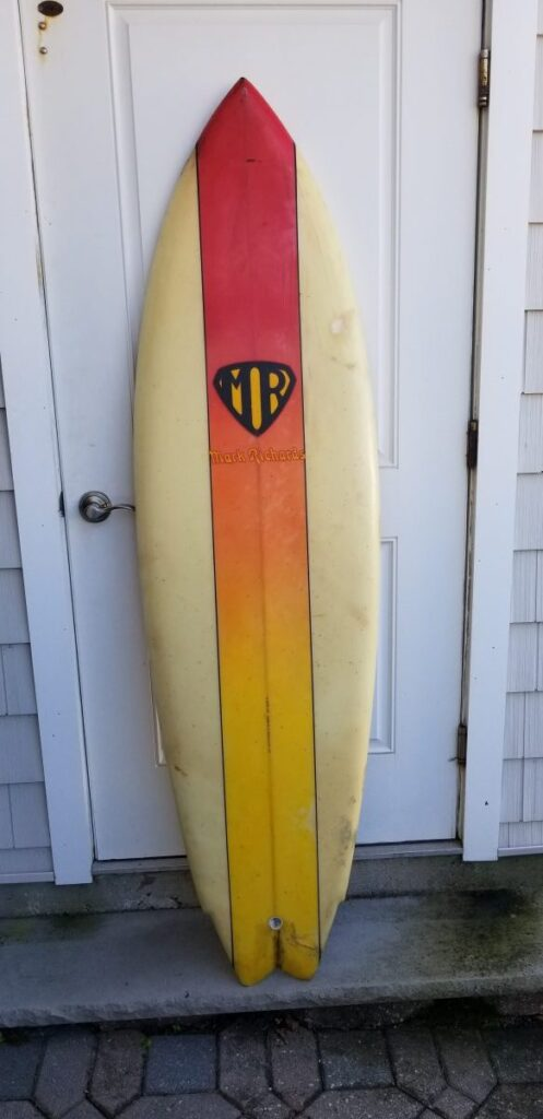 Mark Richards vintage surfboard museum star fin system surfboards surfshop stuart fl 34996