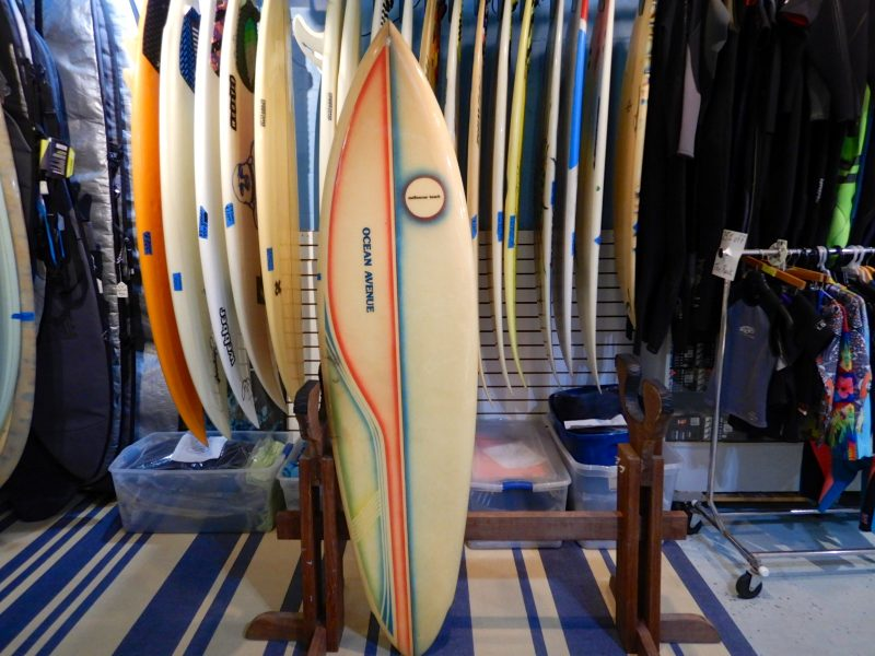 Ocean Ave vintage surfboard surf boards surf shop surfshop stuart fl florida 34996