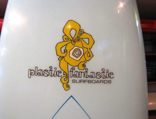 1970's Plastic Fantastic Vintage Surfboard