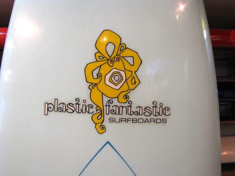 plastic fantastic vintage antique 70s single fin surfboard surfshop surf shop surfboards stuart jensen beach fl florida 34996