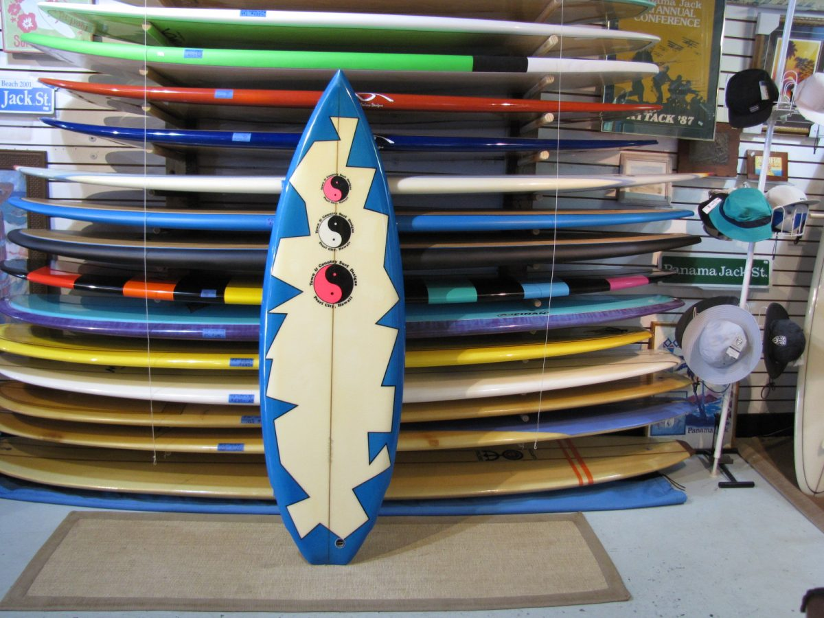 1980's T&C Surfboard | Island Trader Surf Shop