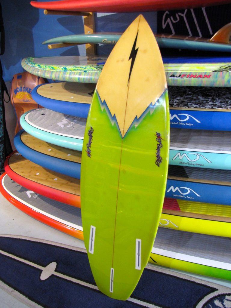 gerry lopez lightning bolt surfboard vintage antique bpbby owens surfshop surf shop surfboards stuart jensen beach fl 34996