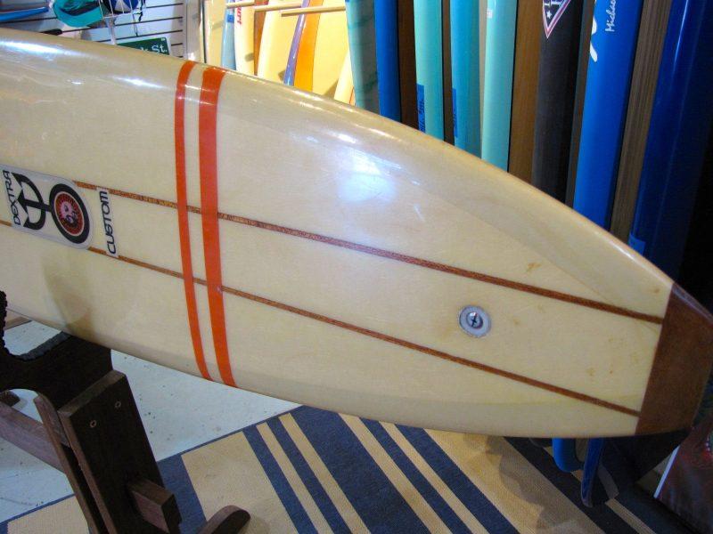 Dextra Vintage antique popout surfboard museum surfboards surfshop stuart jensen beach fl florida