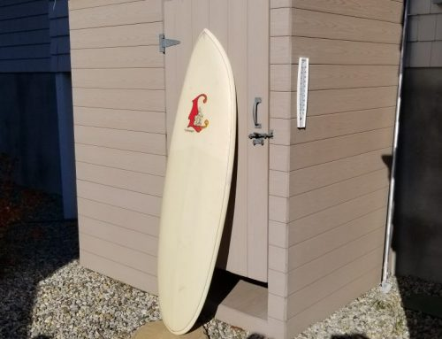 Early 1970's Luthringer Surfboard