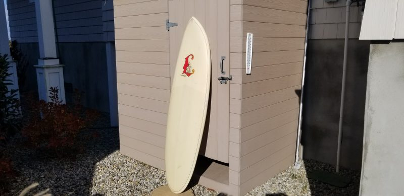 Rich Richard Luthringer vintage antique surfboard surfboards surf board seaside park grogs surf palace surfshop stuart fl